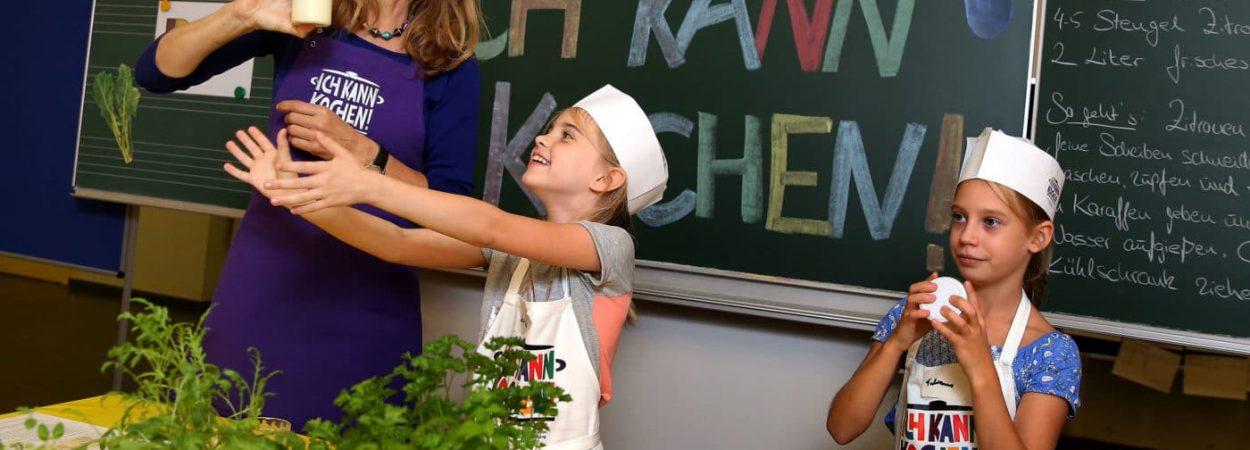 Ernaehrungsbildungsinitiative 'Ich kann kochen!' in Niedersachsen