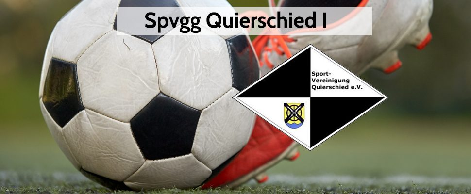 News from the 1st team of Spvgg Quierschied