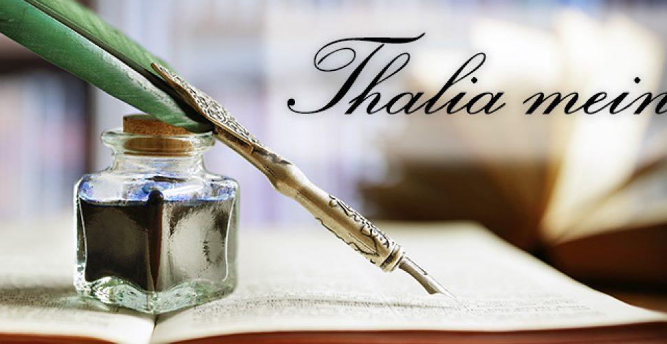 Thalia meint ... Die Kolumne im Regio-Journal