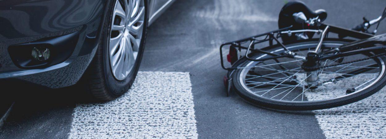Unfall mit Fahrrad