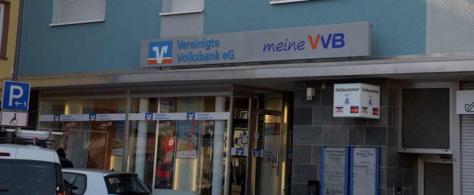 Die Volksbankfiliale in Bildstock
