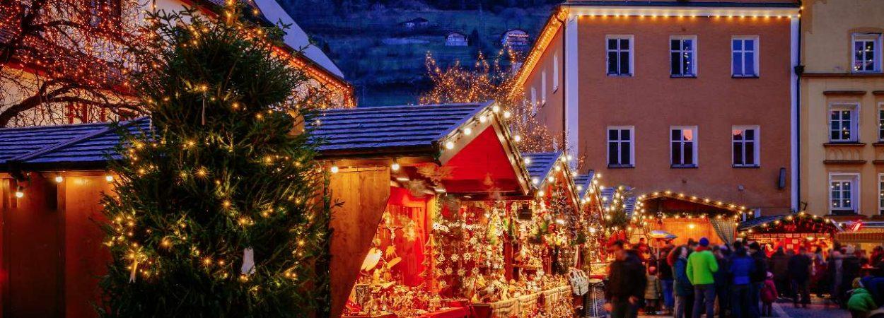 Ein Weihnachtsmarkt
