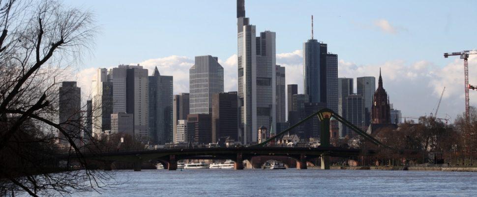 Skyline von Frankfurt / Main, über dts