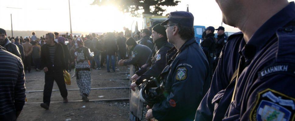 Flüchtlinge in Griechenland, über dts