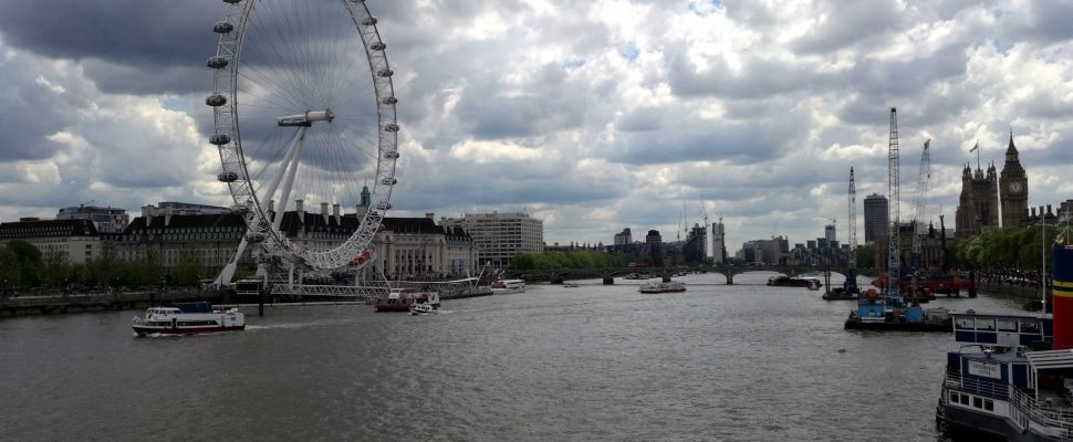 London Eye an der Themse, über dts