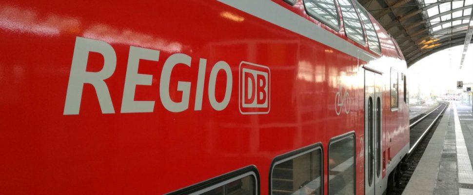 Regionalzug der Deutschen Bahn, über dts