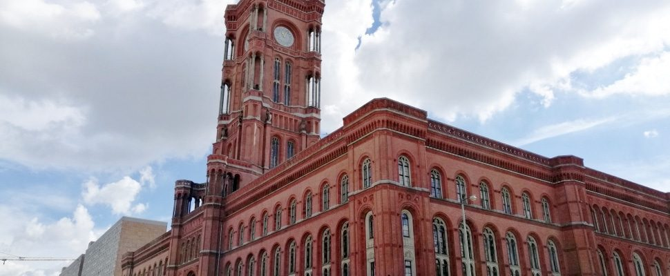 Rotes Rathaus in Berlin, about dts