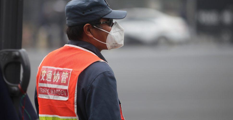 Verkehrspolizist in China, über dts