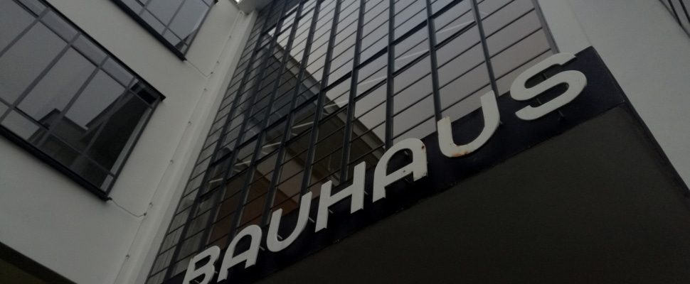 Bauhaus Dessau, via dts