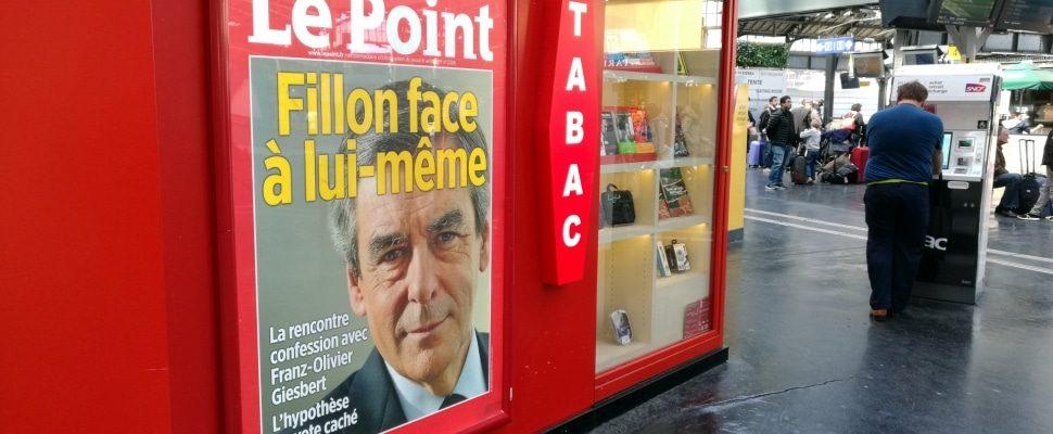 François Fillon auf einem Zeitschriftentitel, über dts