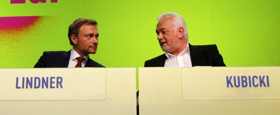 Christian Lindner and Wolfgang Kubicki, about dts