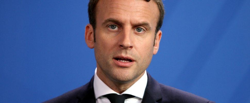 Emmanuel Macron, über dts