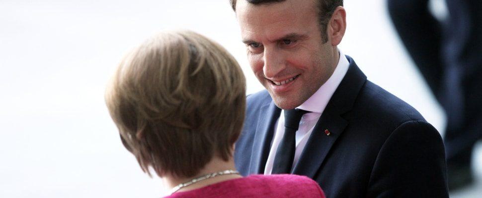 Angela Merkel und Emmanuel Macron, über dts