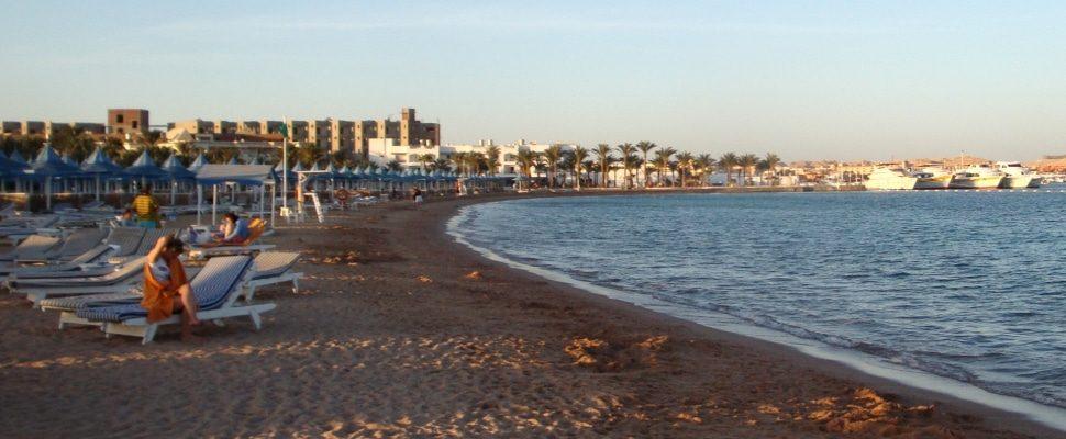 Strand von Hurghada (Ägypten), über dts
