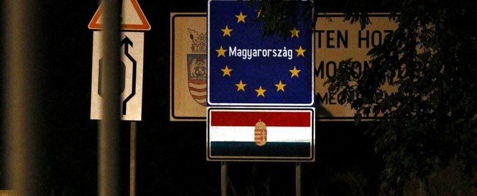 Ungarischer Grenzübergang, über dts