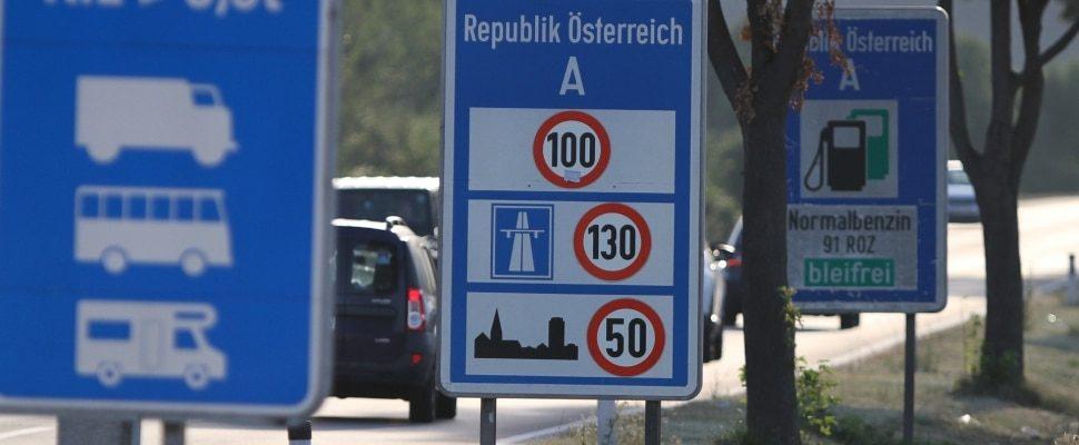 Österreichischer Grenzüberang, über dts