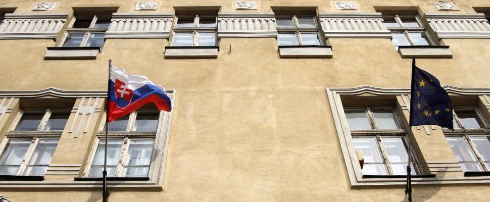 Fahne der Slowakei, über dts