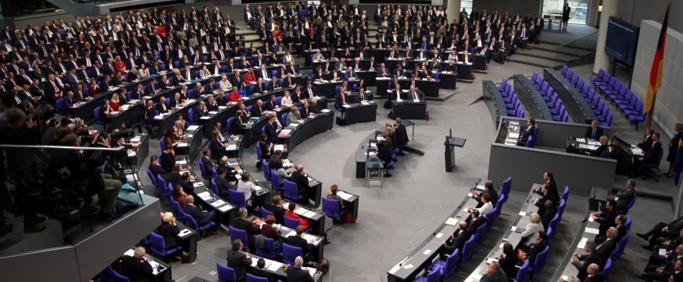 Constituent session of the Bundestag on October 24.10.2017, XNUMX, via dts