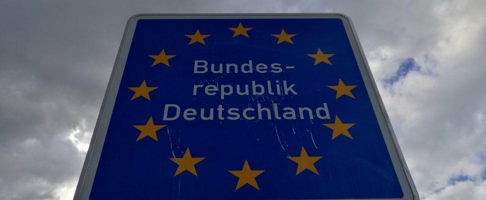 Grenzmarkierung, über dts