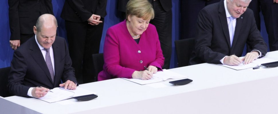 Koalitionsvertrag 2018