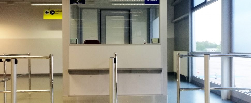 Kontrolle am Flughafen, über dts