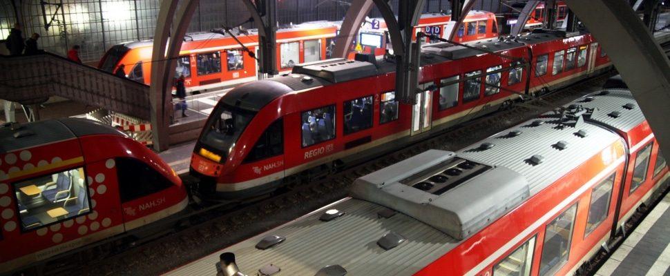 Züge von DB Regio, über dts