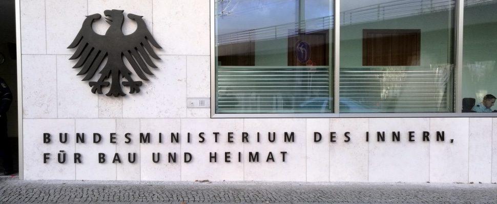 Ministerio Federal del Interior, sobre dts