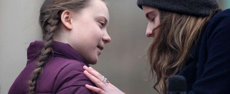 Greta Thunberg und Luisa Neubauer, über dts