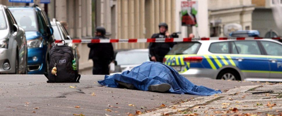 Polizeieinsatz 09.10.2019 in Halle (Saale), über dts