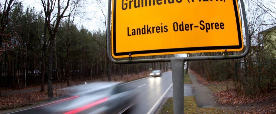 Grünheide in Brandenburg, über dts
