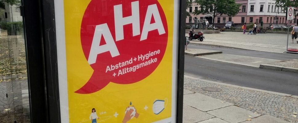 Werbung für AHA