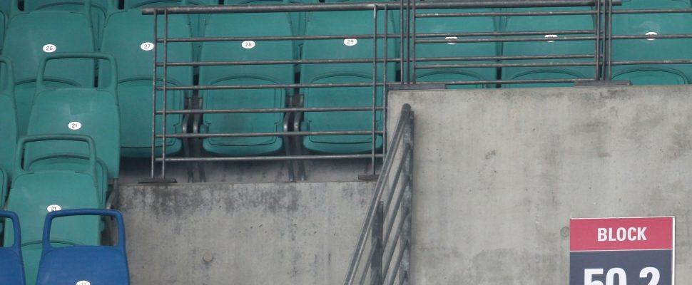 Leere Sitzplätze im Stadion von RB Leipzig, über dts