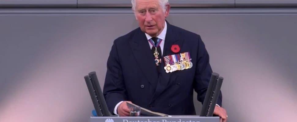 Prinz Charles am 15.11.2020 im Bundestag, über dts
