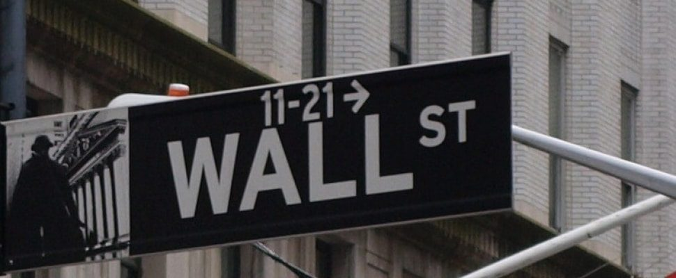 Wallstreet en Nueva York, sobre dts