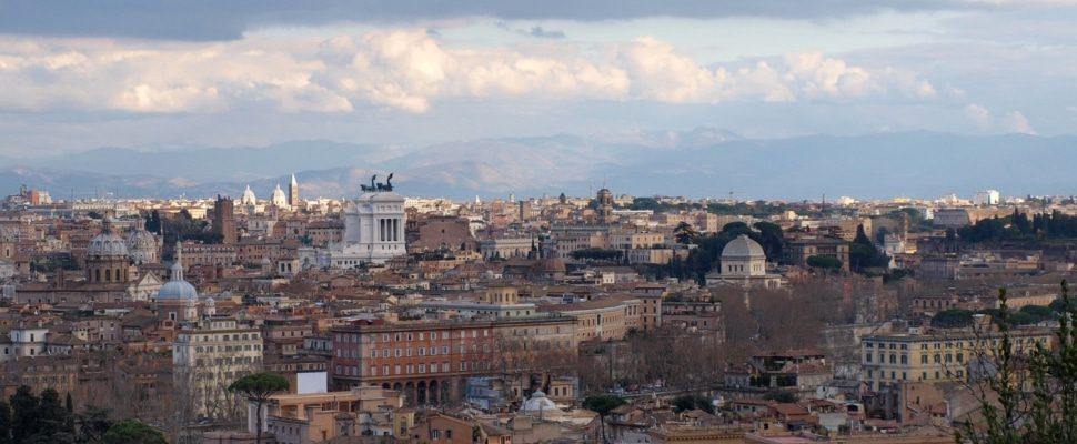 Blick über Rom, über dts