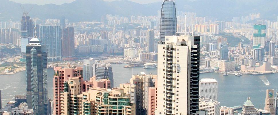 Blick über Hongkong, über dts