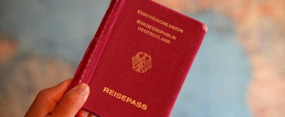 Reisepass, über dts
