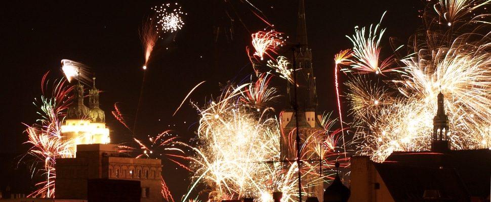 Silvesterfeuerwerk in Halle, über dts