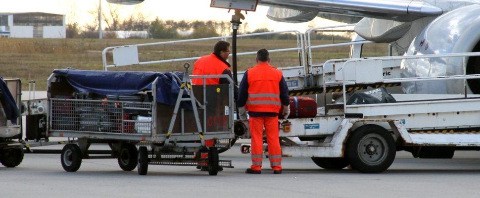 Gepäckverladung am Flughafen, über dts
