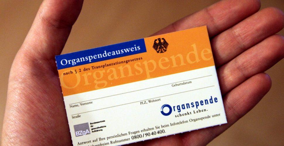 Organspendeausweis, über dts