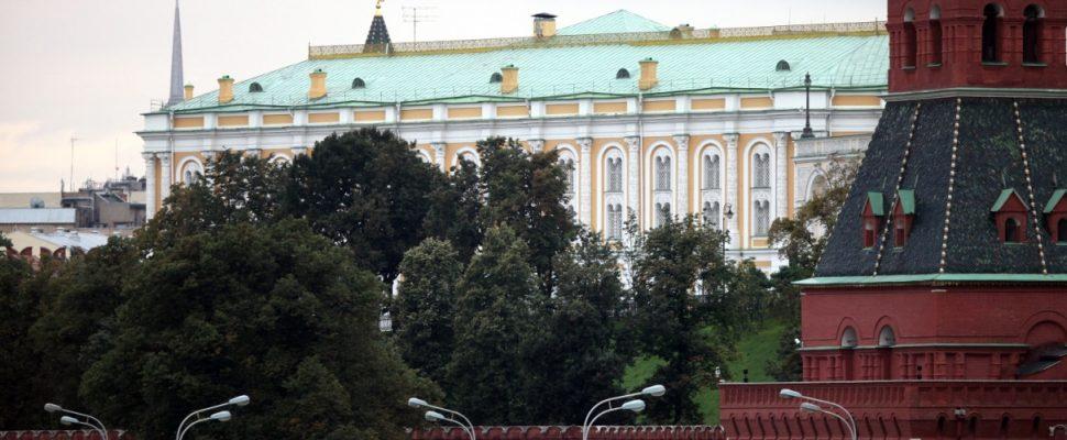 Mauer des Kreml in Moskau, über dts