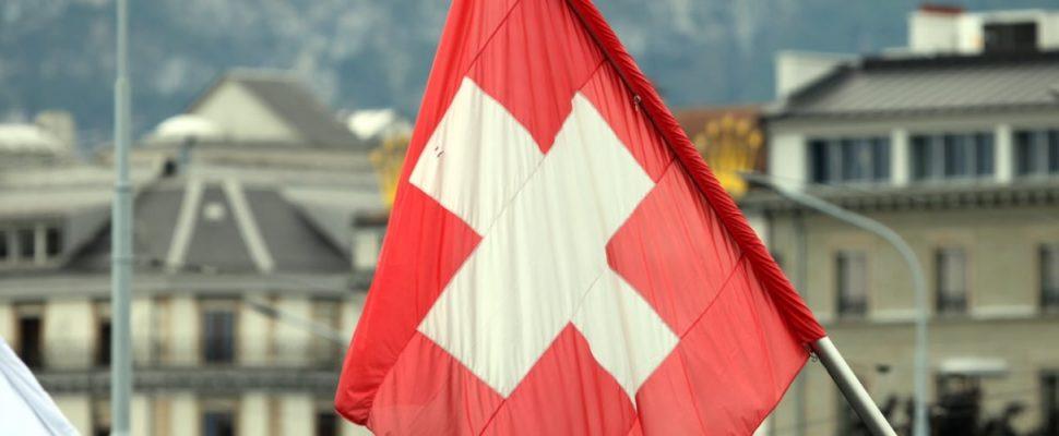 Fahne der Schweiz, über dts