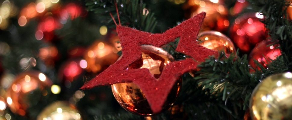 Weihnachtsschmuck, über dts