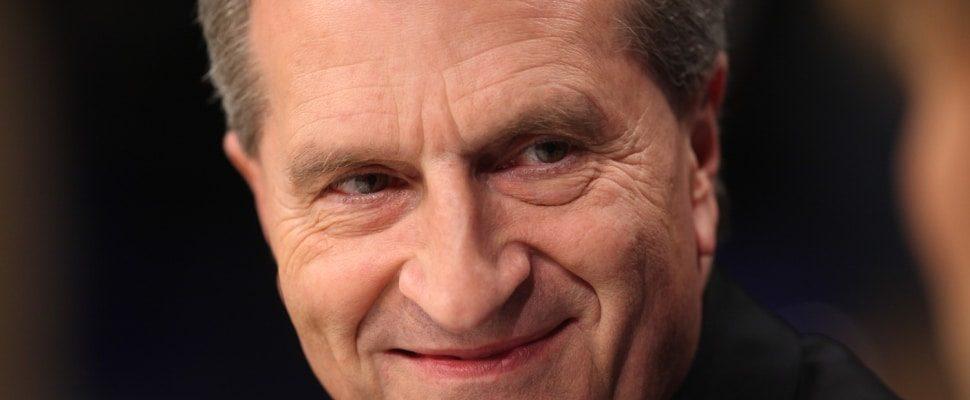 Günther Oettinger, über dts