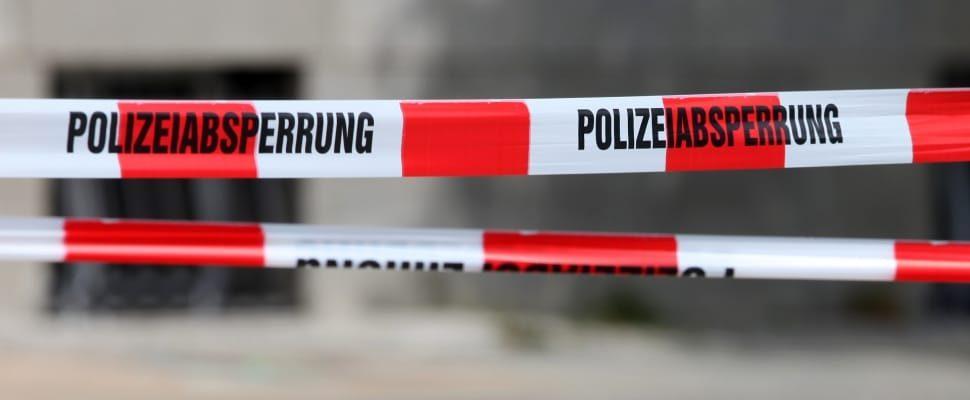 Polizeiabsperrung, über dts