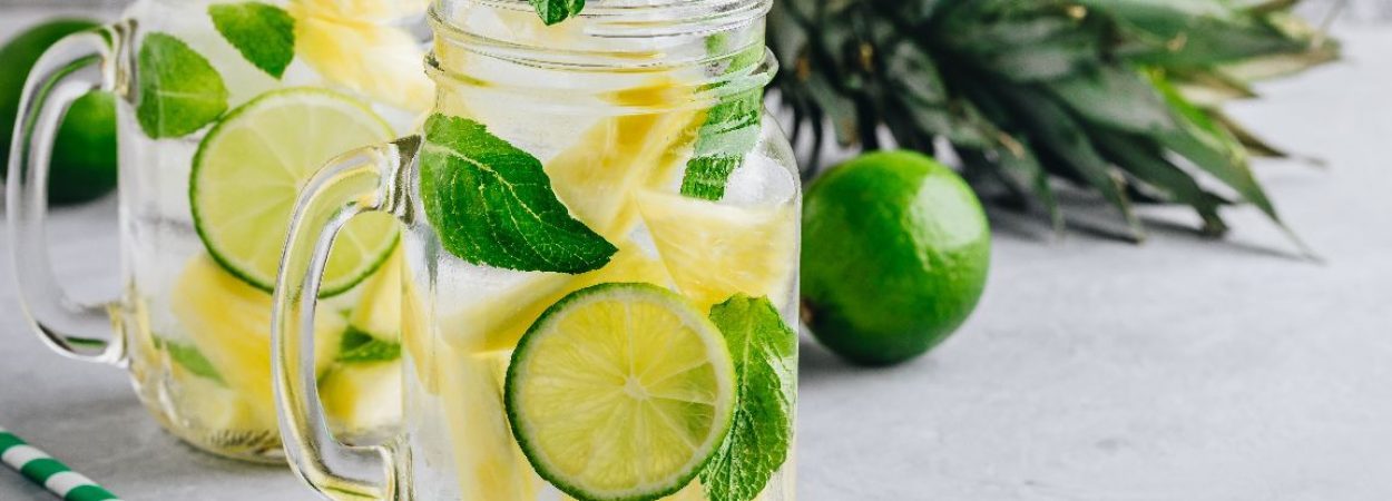Erfrischendes Getränk