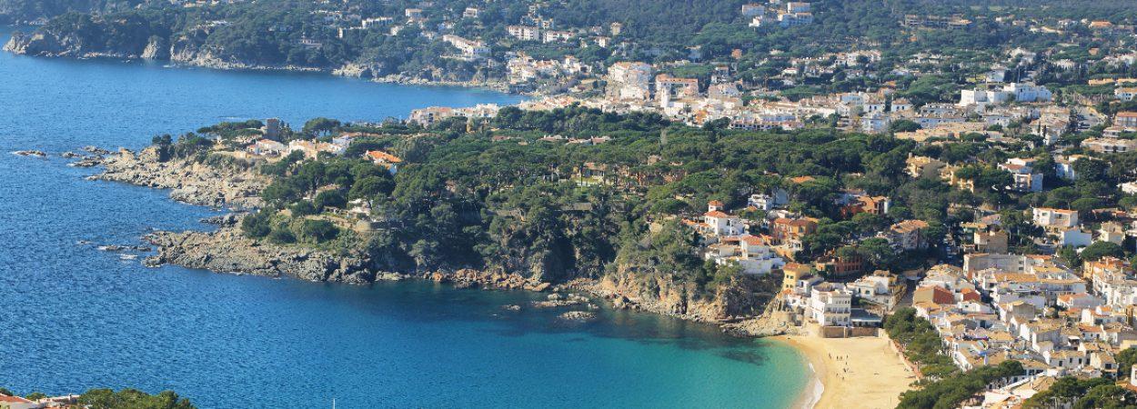 Costa Brava, Palafrugell, Katalonien,