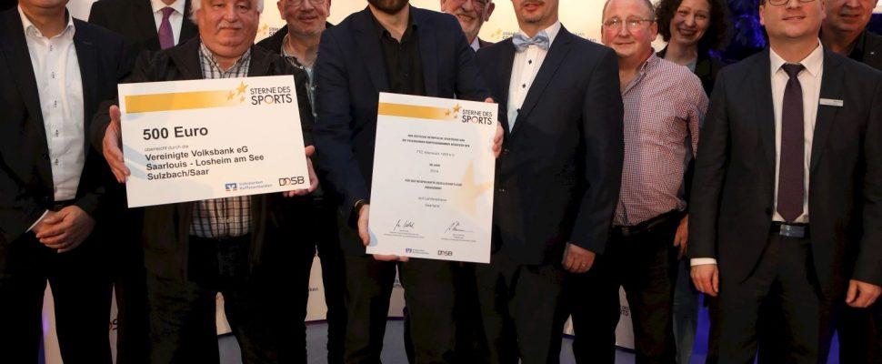 TTC Altenwald bei den Sternen des Sports geehrt